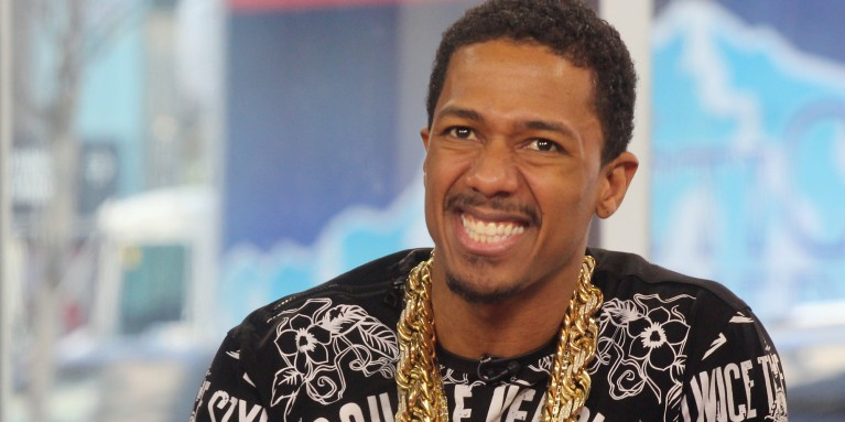 TORONTO, ON - MARCH 24:  Nick Cannon appears on The Morning Show at The Morning Show Studios on March 24, 2014 in Toronto, Canada.  (Photo by Isaiah Trickey/FilmMagic)
